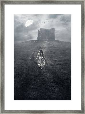 Chapel In Mist Framed Print