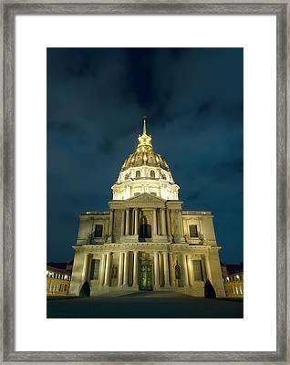Chapel In Paris Framed Print by Ioan Panaite
