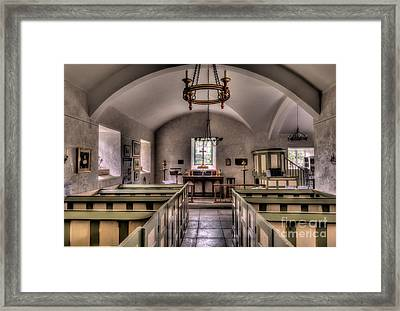 Chapel In Wales Framed Print by Adrian Evans