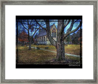 Chapel Framed Print by Jim Wright