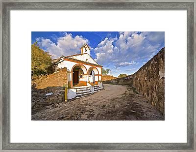 Chapel Of Castelo De Vide Framed Print by David Letts