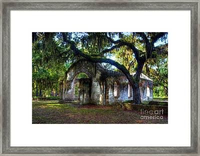 Chapel Of Ease Framed Print by Mel Steinhauer