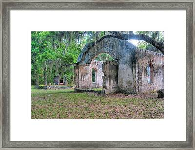 Chapel Of Ease With Tomb Framed Print by Scott Hansen