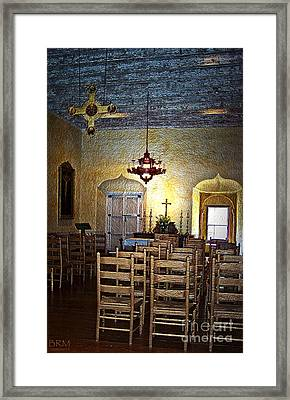 Chapel Of Guadalupe Framed Print by Barbara R MacPhail