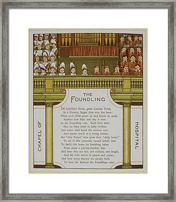 Chapel Of The Foundling Hospital Framed Print