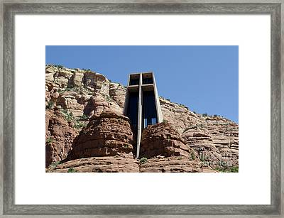 Chapel Of The Holy Cross Framed Print by David Gordon