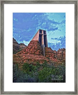 Chapel Of The Holy Cross - Sedona Arizona Framed Print by Gregory Dyer