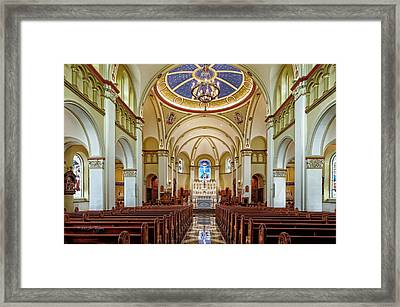Framed Print featuring the photograph Chapel Of The Immaculate Conception by Jim Thompson