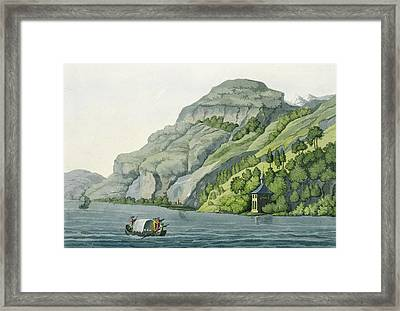 Chapel Of William Tell, From Customs Framed Print by Vittorio Raineri