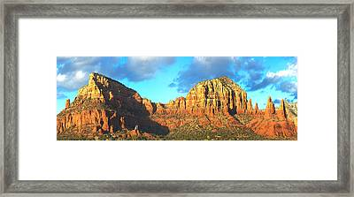 Chapel On Rock Formations, Chapel Of Framed Print by Panoramic Images
