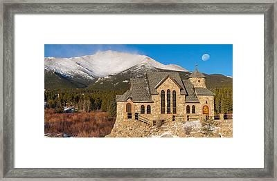 Chapel On The Rock Framed Print