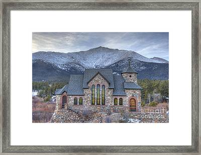 Chapel On The Rock Framed Print by Juli Scalzi