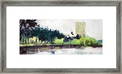 Chapel Saint Christophe Framed Print by Andre MEHU