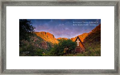 Chapel Sunrise Framed Print