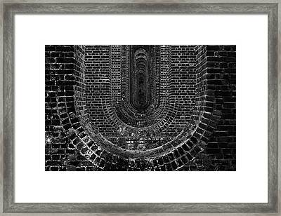 Chapel Viaduct Essex Uk Framed Print by Martin Newman