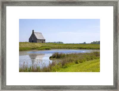 Chapelle Sainte-anne - Brittany Framed Print by Joana Kruse