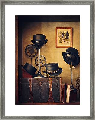 Chapellerie Framed Print by Maria Angelica Maira