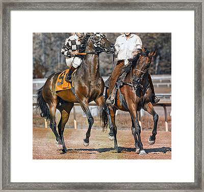 Chaperoned  Framed Print by Betsy C Knapp