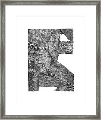 Chaps 1 Framed Print
