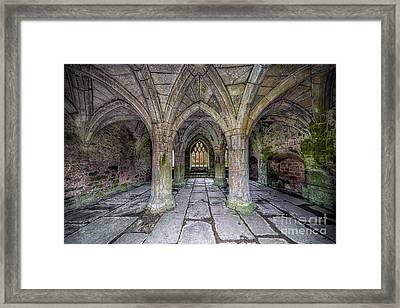 Chapter House Interior Framed Print