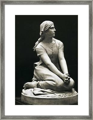 Chapu, Henri-michel-antoine 1833-1891 Framed Print by Everett