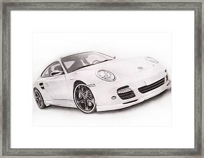 Char-car Framed Print by Atinderpal Singh