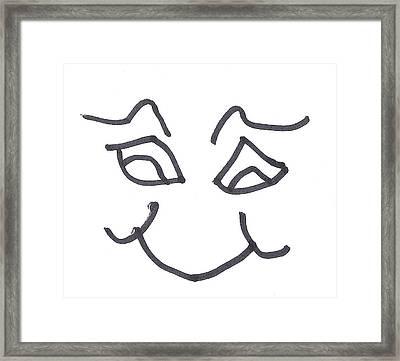 Character Creation - Fignblanket Framed Print
