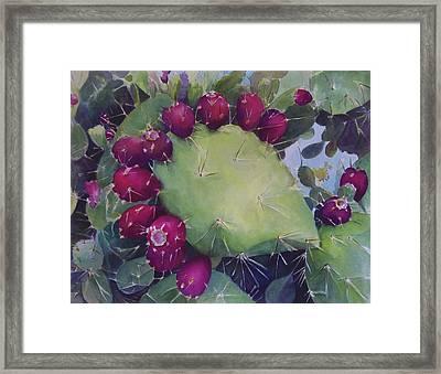 Charco De Botanico Framed Print
