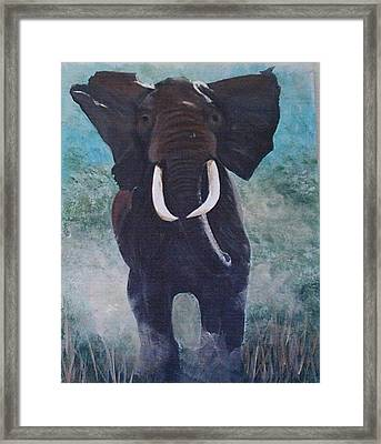 Charge Framed Print by Catherine Swerediuk
