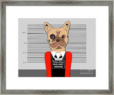 Charged With A Misdemeanor Framed Print