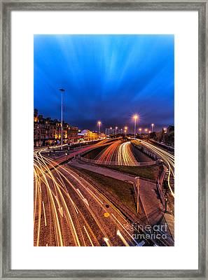 Charing Cross Glasgow Framed Print by John Farnan