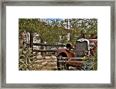 Framed Print featuring the photograph Chariot Awaits by Lee Craig