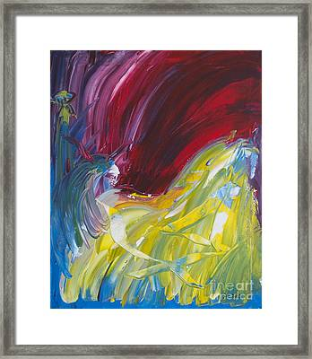 Chariot Through Hell Framed Print