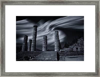 Framed Print featuring the photograph Charioteer  Of The Patient Year by Micah Goff