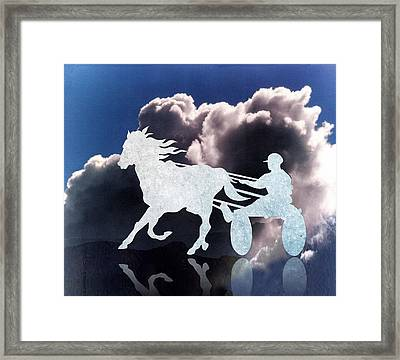 Chariots Of Fire Framed Print by Patricia Howitt