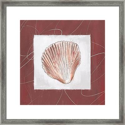 Charismatic Caribbean- Marsala Pantone 18-1438 Framed Print by Lourry Legarde
