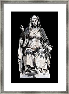 Charity Framed Print by Fabrizio Troiani