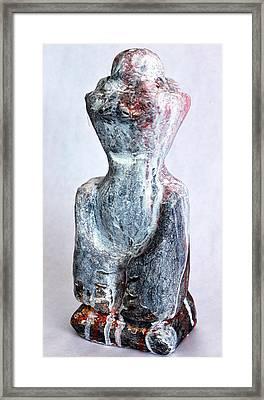 Charlatan No. 5 Framed Print by Mark M  Mellon