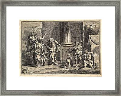 Charles-antoine Coypel French, 1694 - 1752 After Giovanni Framed Print