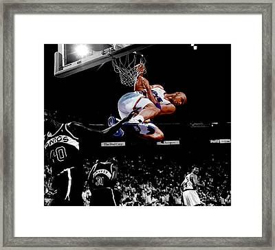 Charles Barkley Hanging Around Framed Print