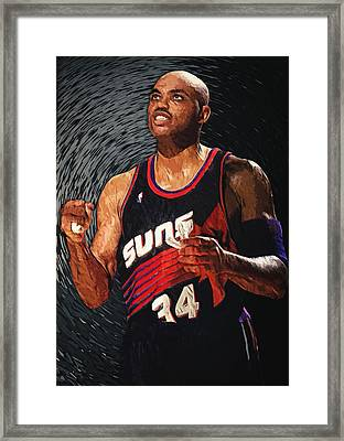 Charles Barkley Framed Print