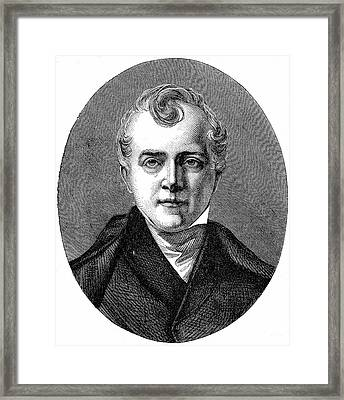 Charles Bell Framed Print by Universal History Archive/uig