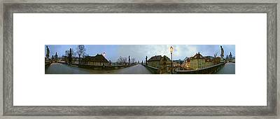 Charles Bridge 360 Framed Print by Gary Lobdell