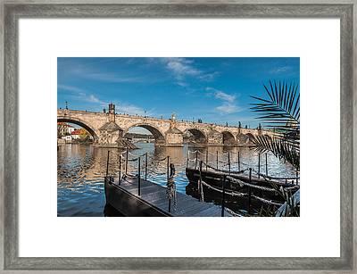 Charles Bridge Framed Print by Sergey Simanovsky