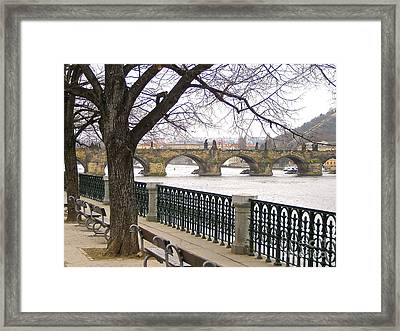 Charles Bridge  Framed Print
