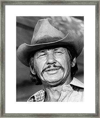 Charles Bronson In Breakout  Framed Print by Silver Screen
