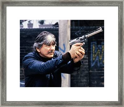 Charles Bronson In Death Wish 3  Framed Print by Silver Screen
