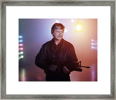 Charles Bronson In Death Wish 4: The Crackdown  Framed Print by Silver Screen