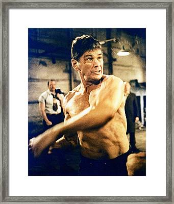 Charles Bronson In Hard Times  Framed Print by Silver Screen