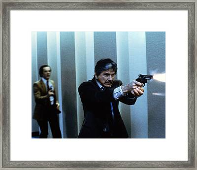 Charles Bronson In Murphy's Law  Framed Print by Silver Screen